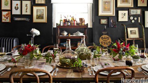 dekorace na stul